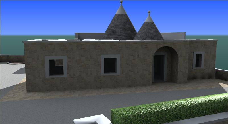 This Topic Includes The Project To Restructure And Expand A Trullo House  (south Italy) With All Autocad Files And Sketchups. The Project Is Made In  3D